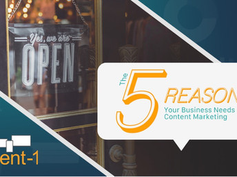 The 5 Reasons Your Business Needs Content Marketing