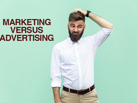 So, what's the difference between marketing and advertising anyway?