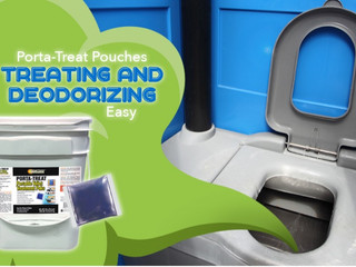 Porta-Treat Pouches Make Treating and Deodorizing Easy