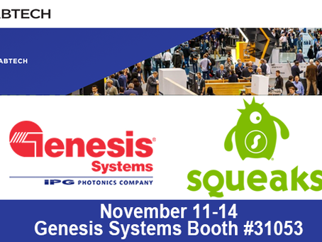 Genesis Systems is showcasing SQUEAKS I4.0 Communication Platform at FABTECH