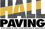 Hall Paving Logo