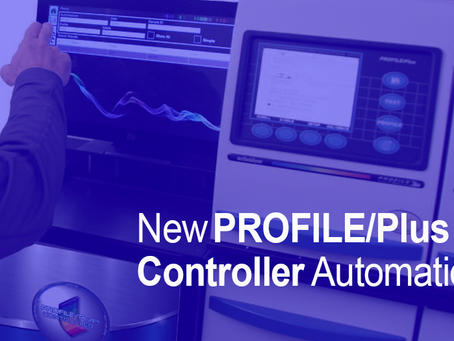 The New PROFILE/Plus Controller automation gets data to the floor faster