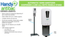 Get your Automatic Hand Sanitizer Dispensers with a durable mobile stand at ShopLentus.com