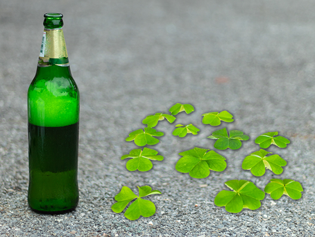 Did you know asphalt is as green as your St Patrick's Day beer?