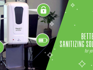 Better hand sanitizing solutions for your business