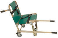 Evacuation Chair with Extended Handles &