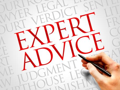 Seeking professional legal advice is smart. The same is true of marketing.