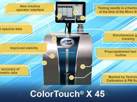 A Quick Look at the New ColorTouch® X 45