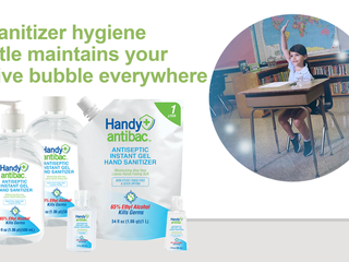Handy Antibac™ Antiseptic Instant Gel Hand Sanitizers