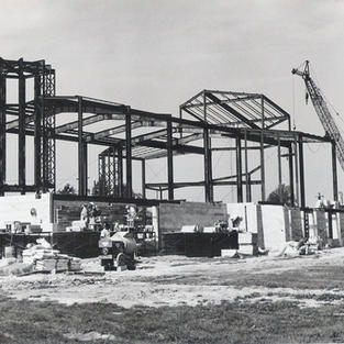 Construction of Christ Episcopal Church