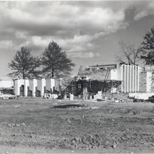 Construction of the chapel - Christ Episcopal Church