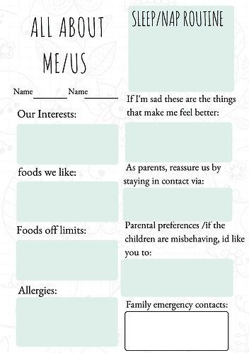 Teal Personal Writing Prompt Worksheet-4