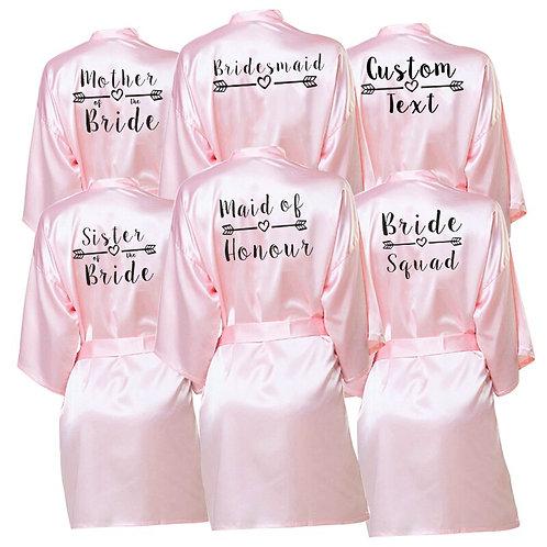 Personalised Bride /Bridesmaid  Robes