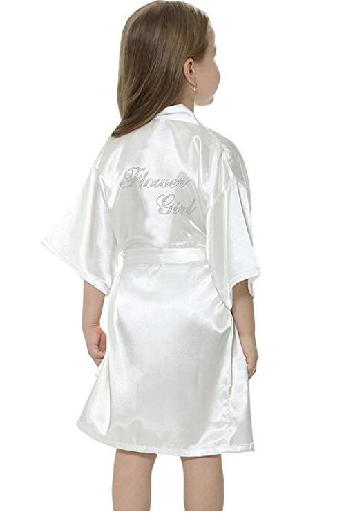 Children's Wedding , Satin robe
