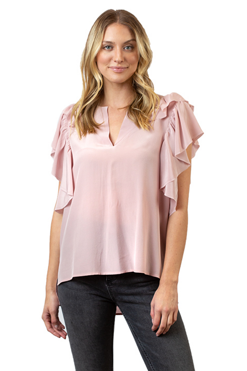 Beckett Ruffle Top