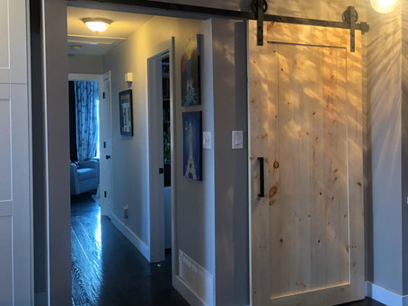 A barn door project...