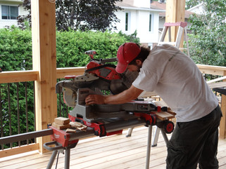 Me building the dream deck