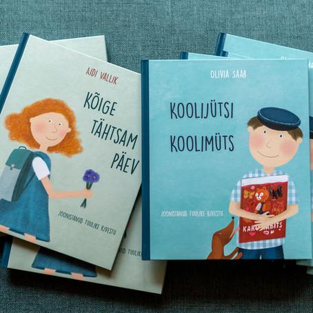 """Olivia Saar ja Aidi Vallik """"Koolijütsi koolimüts. Kõige tähtsam päev"""""""