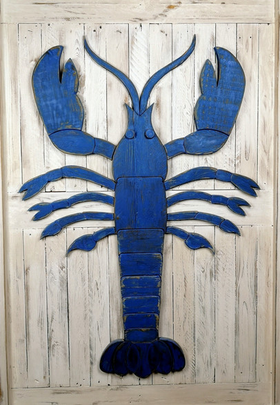 Giant Blue Lobster
