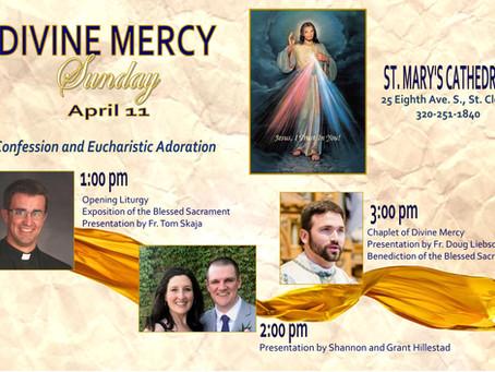 Divine Mercy Sunday Event