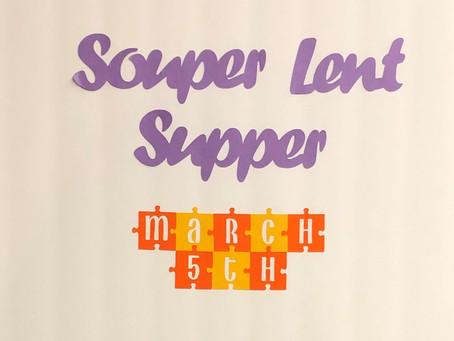 Souper Lent Supper!