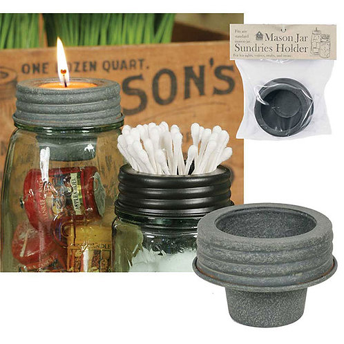 Mason Jar Tapered Cup Lid - Barn Roof - Box of 4