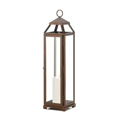 Extra Tall Copper Lantern