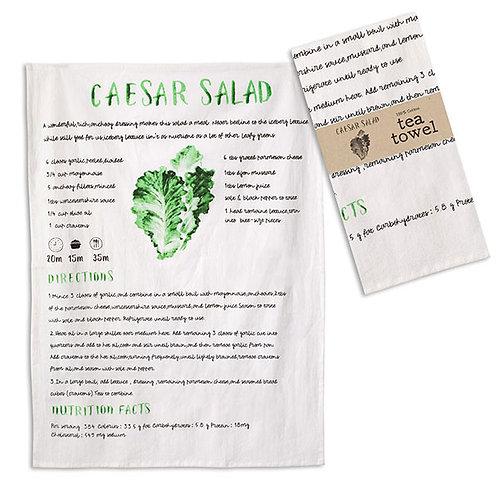Caesar Salad Tea Towel - Box of 4