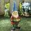 Thumbnail: Bird Feeder Gnome Solar Garden Statue