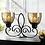 Thumbnail: Fleur De Lis Dual Candle Holder