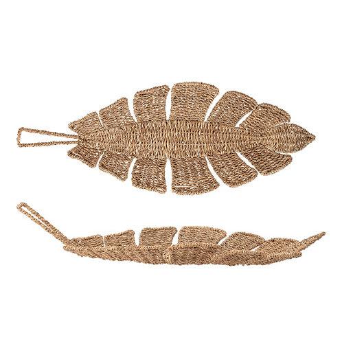 Brown Bankuan Rope Leaf Tray