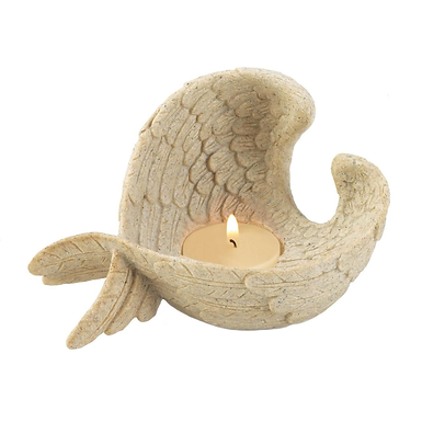 Angel Wings Tealight Holder