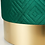 Thumbnail: Green Velvet Stool