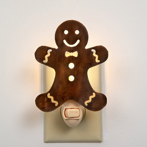 Gingerbread Night Light - Box of 4