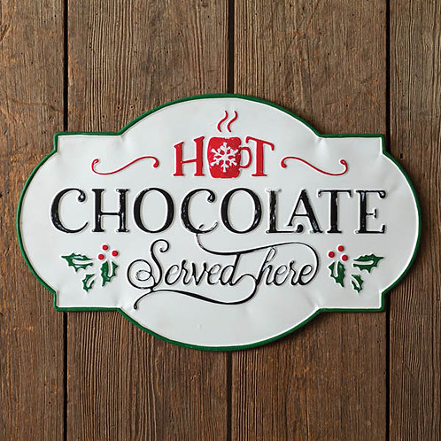 Hot Chocolate Wall Sign