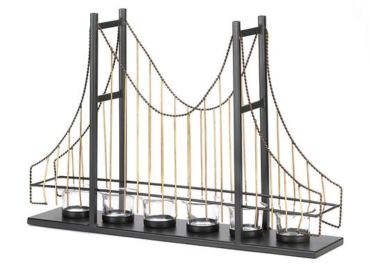 Golden Gate Candle Holder