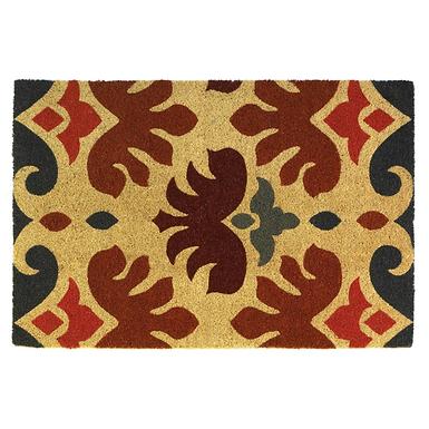Charles Rooster Coir Doormat