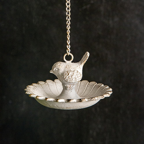 Cast Iron Hanging Bird Feeder - Box of 2