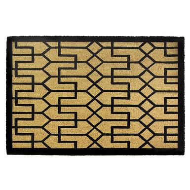 Buchanan Art Deco Coir Doormat