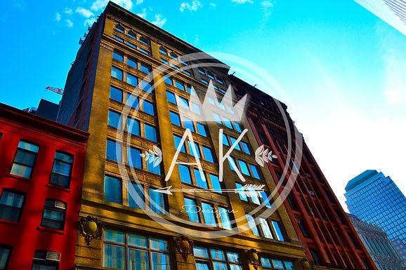 City Buildings Print