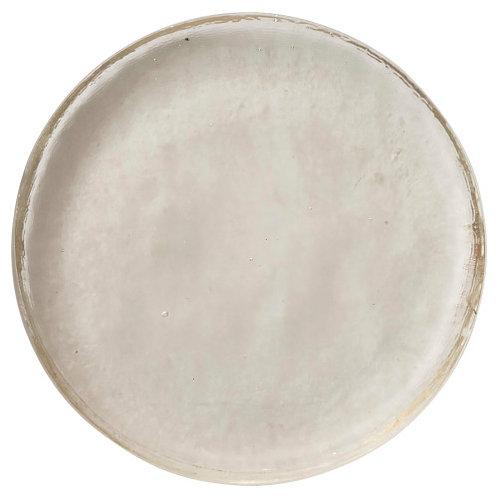 Glass Disc Tray/Decorative Base