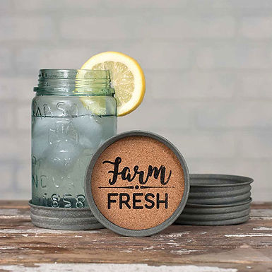 Farm Fresh Coaster - Box of 4
