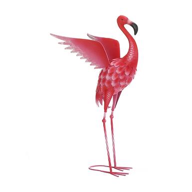 Flying Flamingo Garden Decor