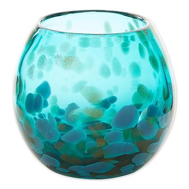 Aqua Bowl Vase