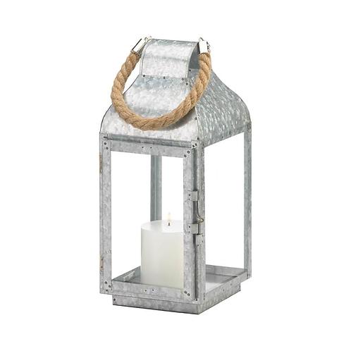 Galvanized Farmhouse Lantern