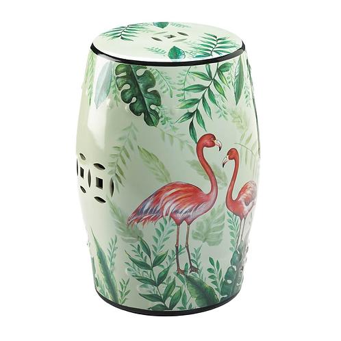 Flamingo Garden Stool