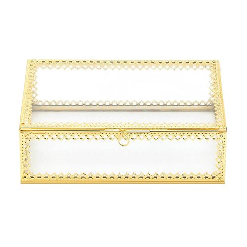 Gold Motif Jewelry Box
