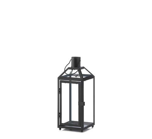 Midtown Small Black Lantern