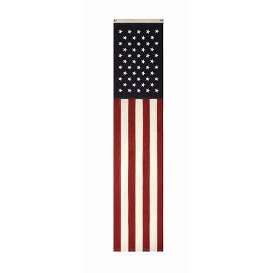 """20""""L x 96""""H Vertical Flag Wall Decor"""