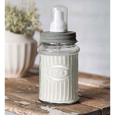 Hoosier Foam Dispenser - Barn Roof